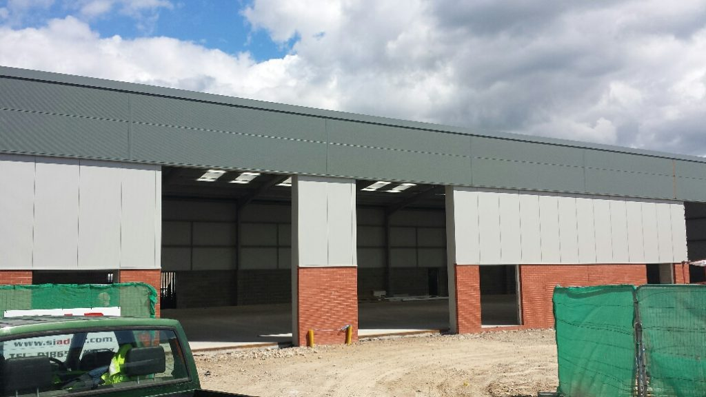 Warehouse In Pony Road Oxford Wrightway Steels